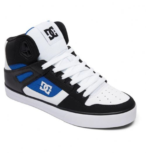 DC SHOES MENS HI TOP BOOTS.PURE FAUX LEATHER HIGH SKATE TRAINERS SHOES 8S 43 XWB